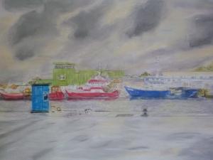 Paysage portuaire