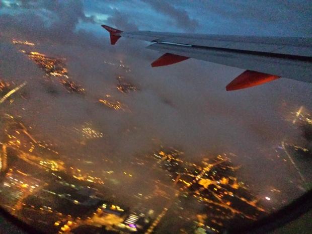 Au-dessus de la ville
