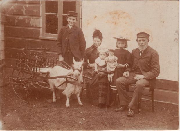 Mon grand-père à l'âge de 13 ans, 1894